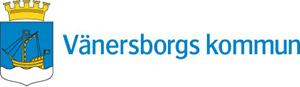 Vänsterställd logo i färg Vänersborgs kommun