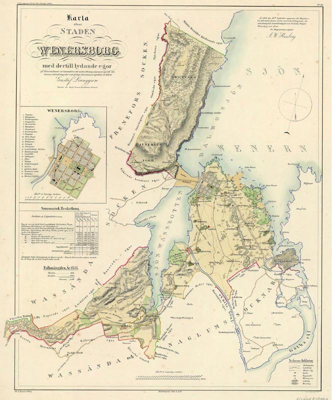 Karta Vanersborg.Arkiv Och Ritningar Vanersborgs Kommun